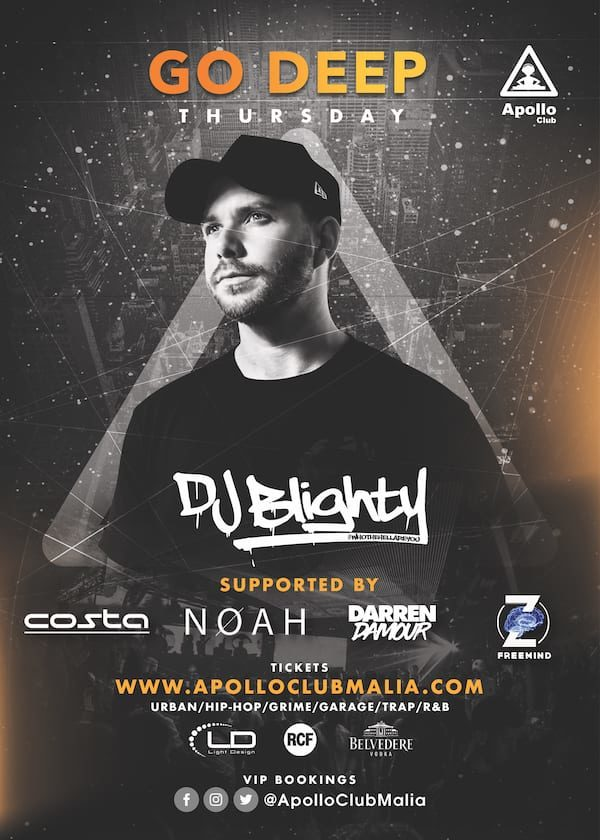 Apollo Club Malia | DjBlighty