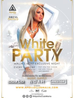 Apollo Club Malia | White Party
